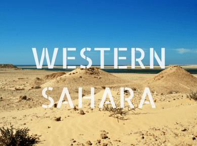Western Sahara Travel Guides