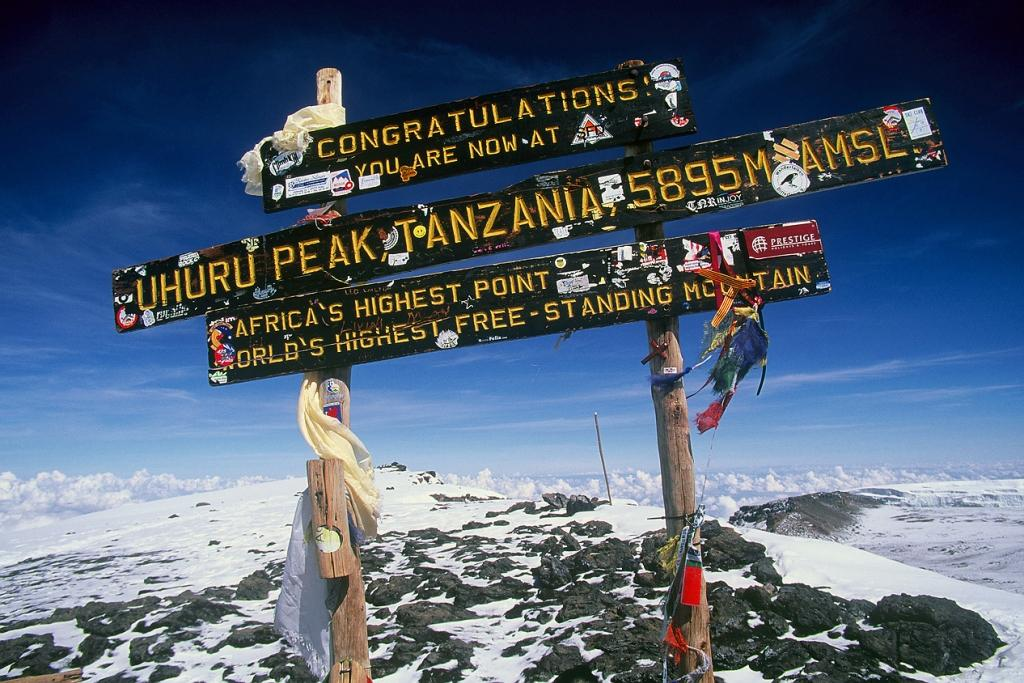 kilimanjaro climbing tanzania