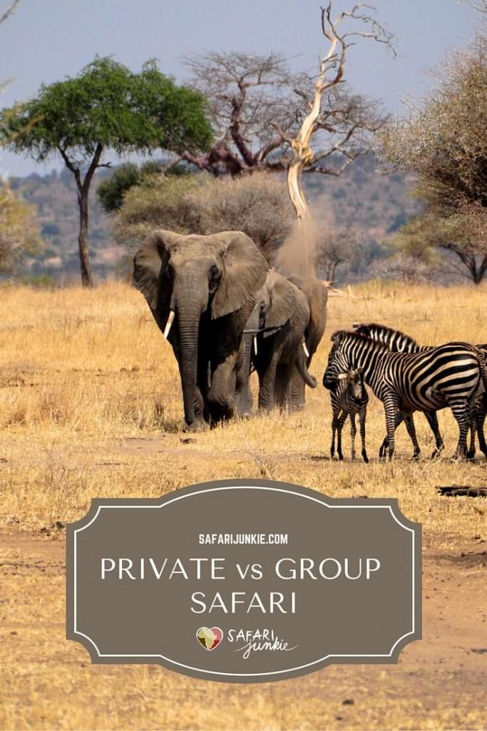 private or group safari africa tanzania