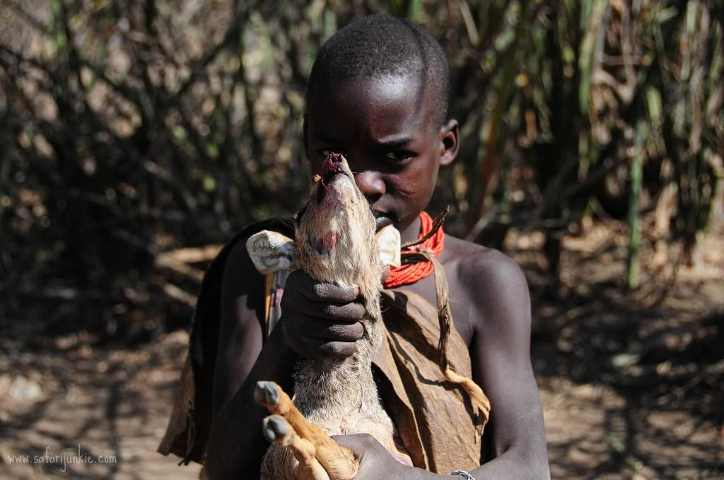 hadza tribe visit safari tanzania