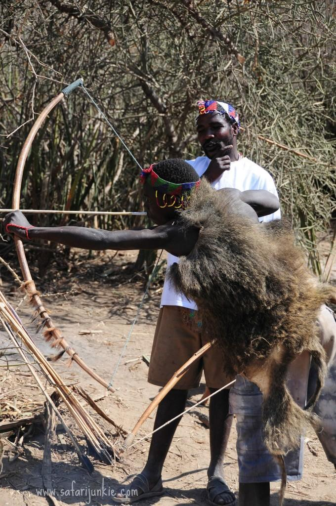 tribes in tanzania hadza men hunting