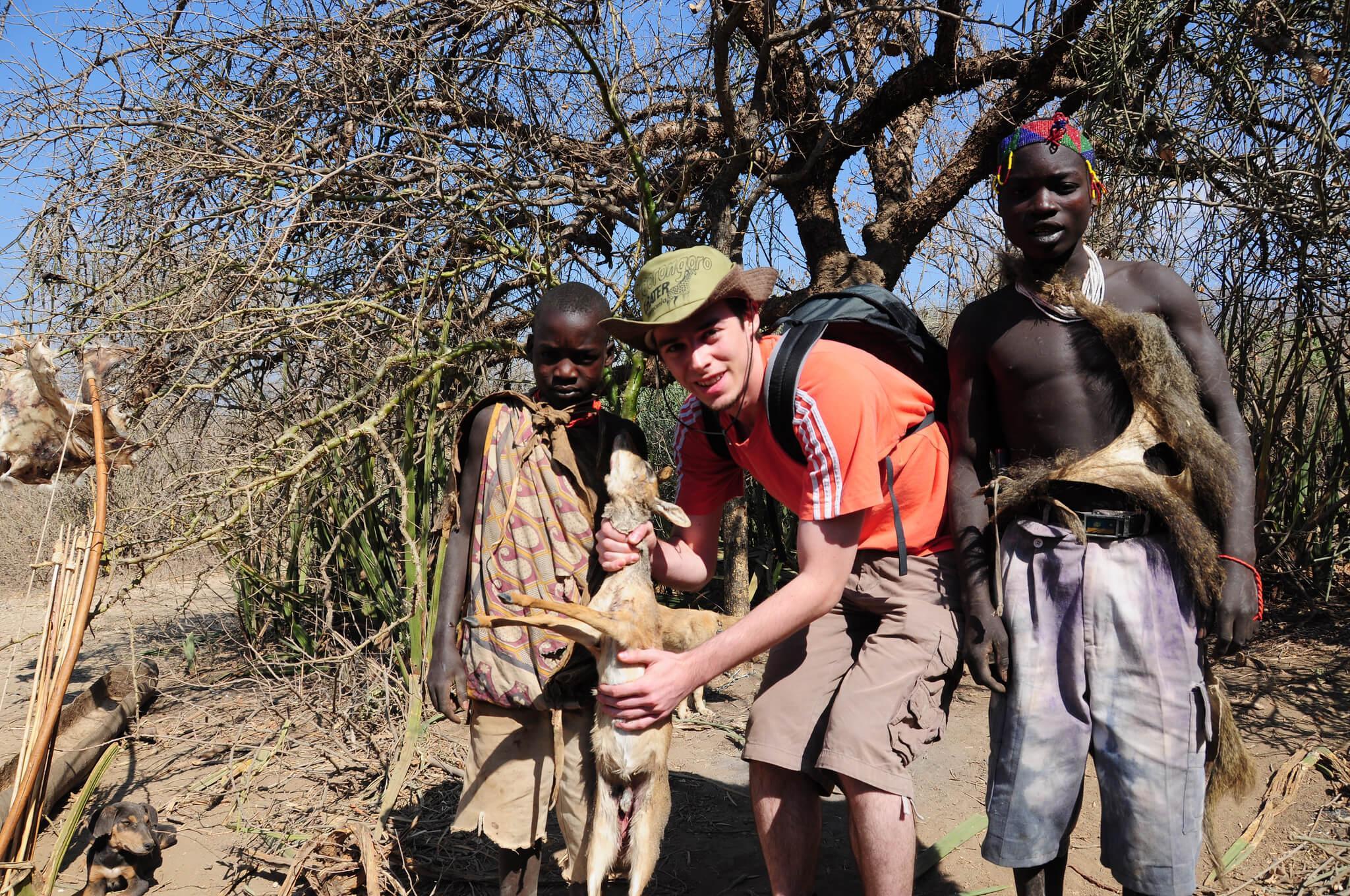 visit hadza tribe lake eyasi safari in tanzania