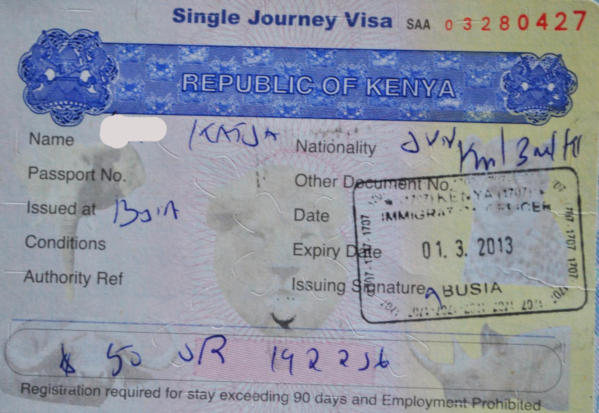 Kenya Visa Application Online Beginners Guide ...