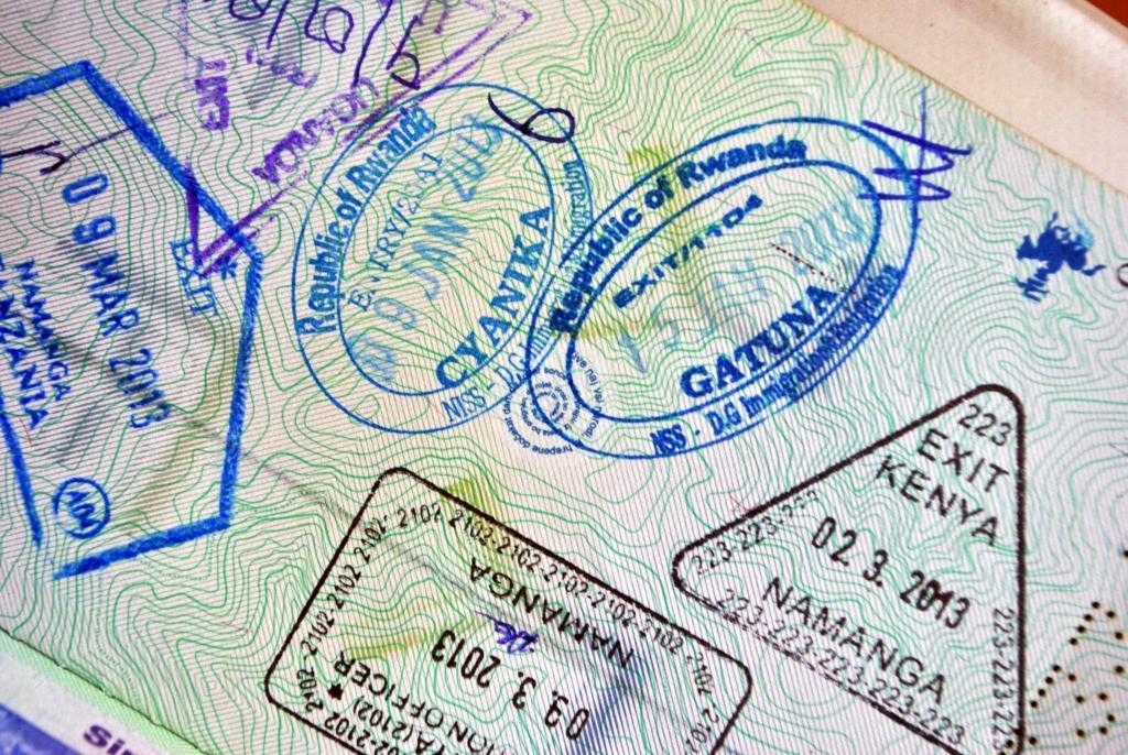 Visas East Africa
