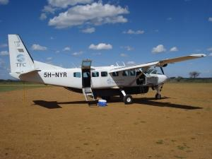 flights to serengeti