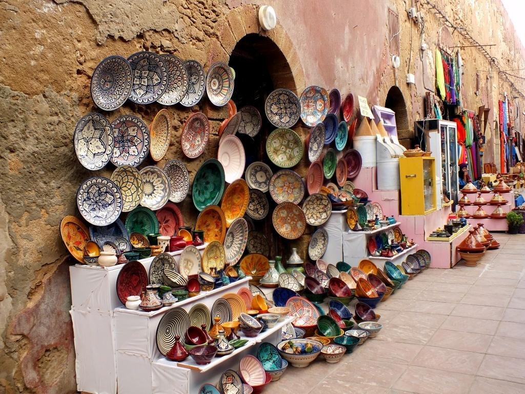 markets morocco souvenirs