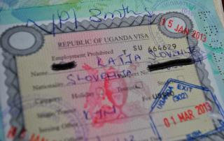 single tourist visa uganda
