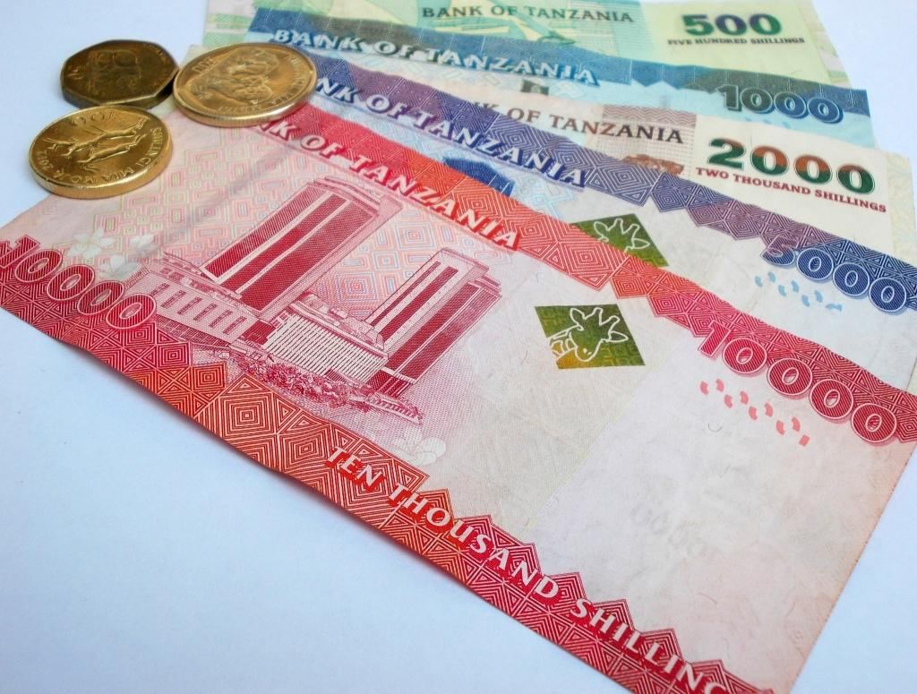 tanzanian bank notes bills money