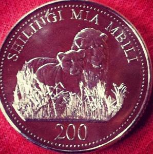tanzanian money coins