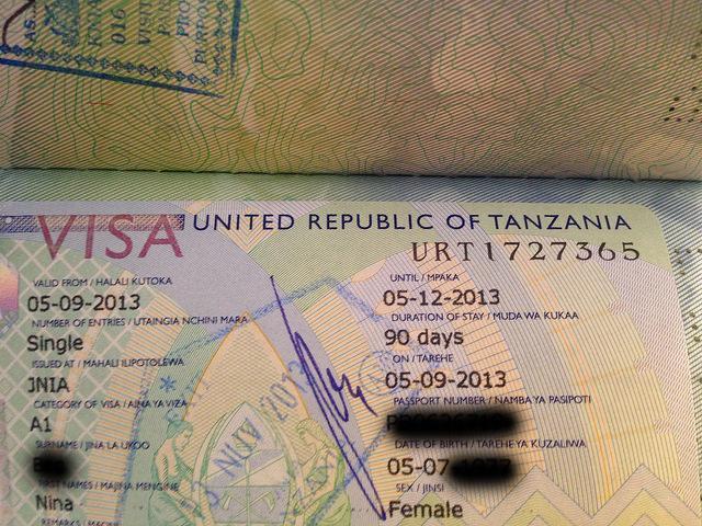 Visas And Customs In Tanzania Safari Junkie