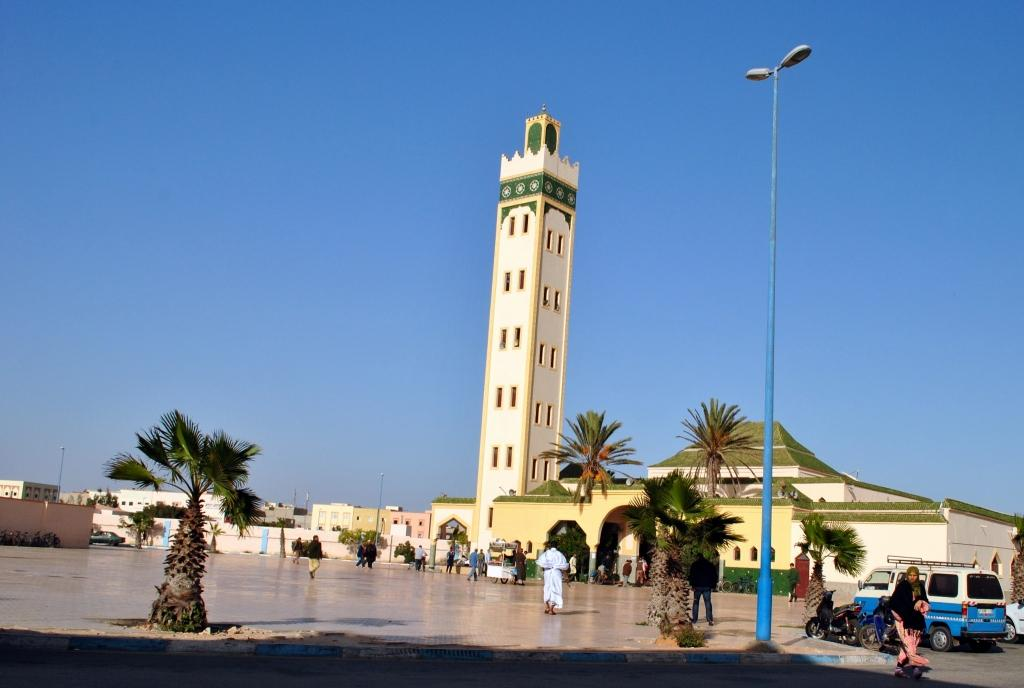 City centre of Dakhlawestern sahara
