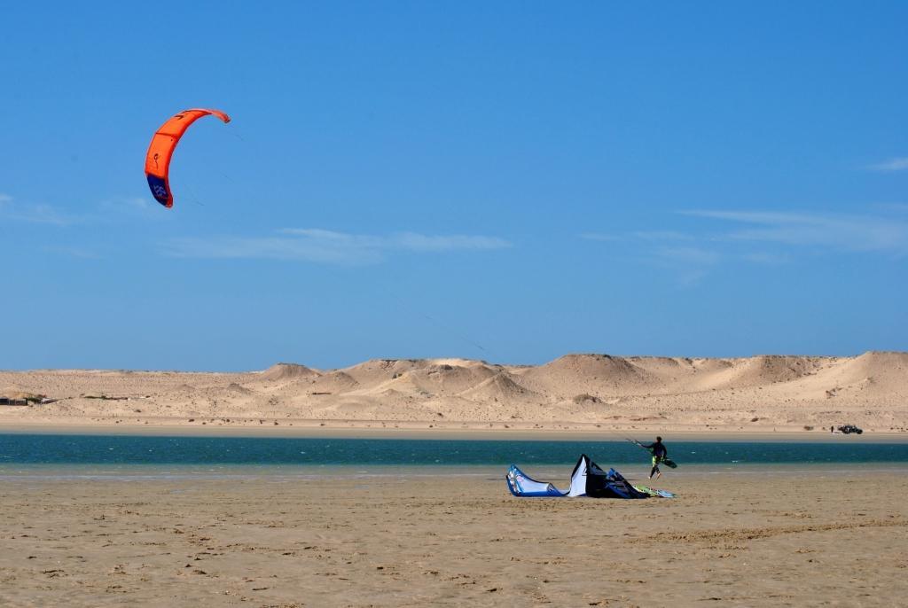 Kitesurfing in Dakhla