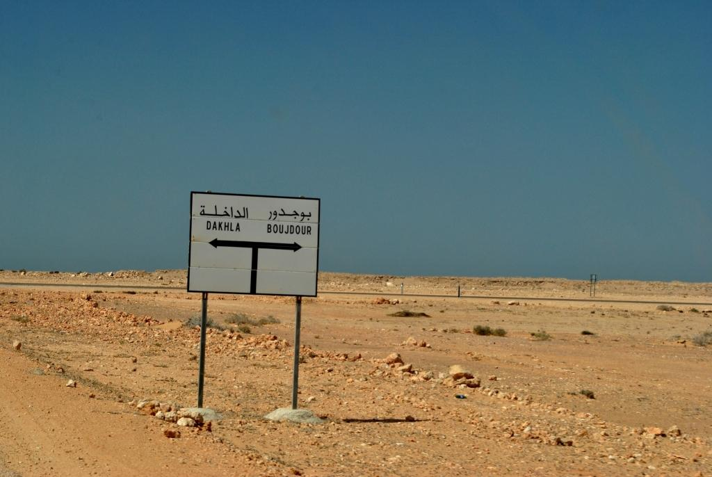 On the way to Dakhla western sahara
