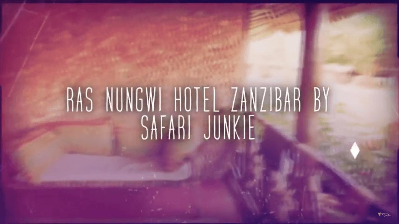 best hotel zanzibar ras nungwi video