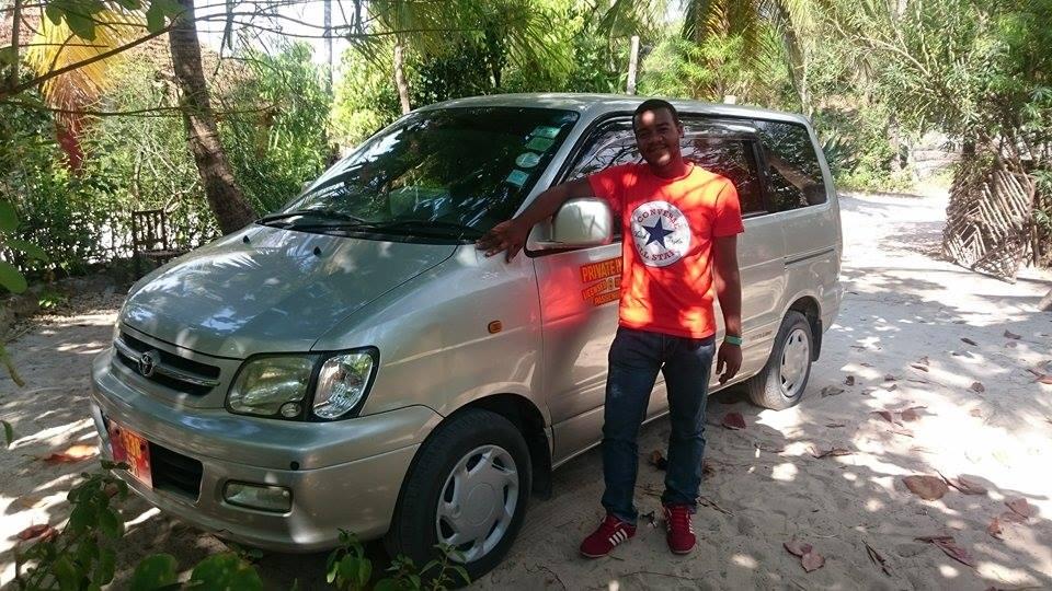 cheap taxi zanzibar 7 seater van