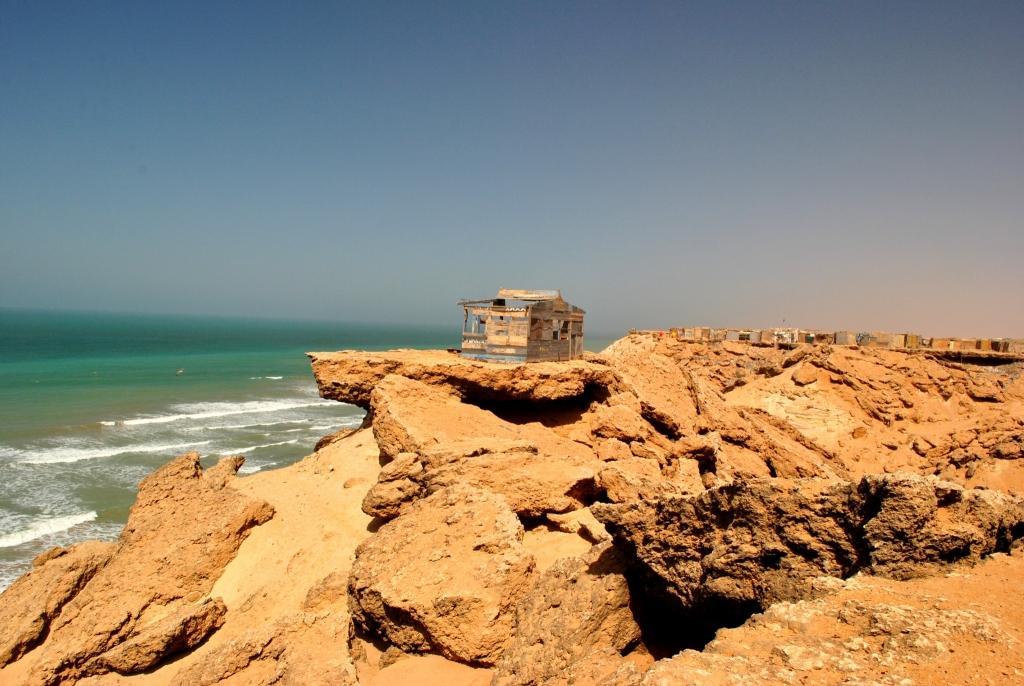 cliffs dakhla western sahara