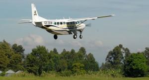 flights to national parks uganda