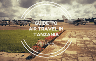 guide to air travel in tanzania
