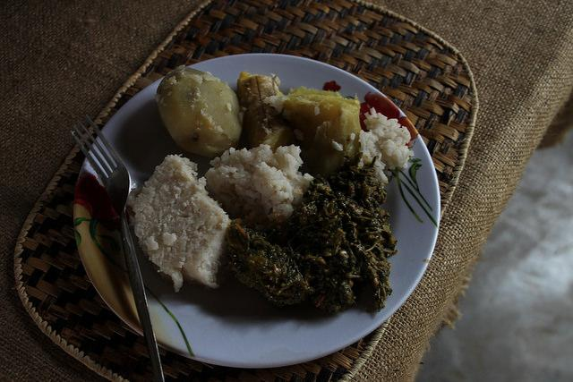 local lunch in rwanda red rocks musanze review