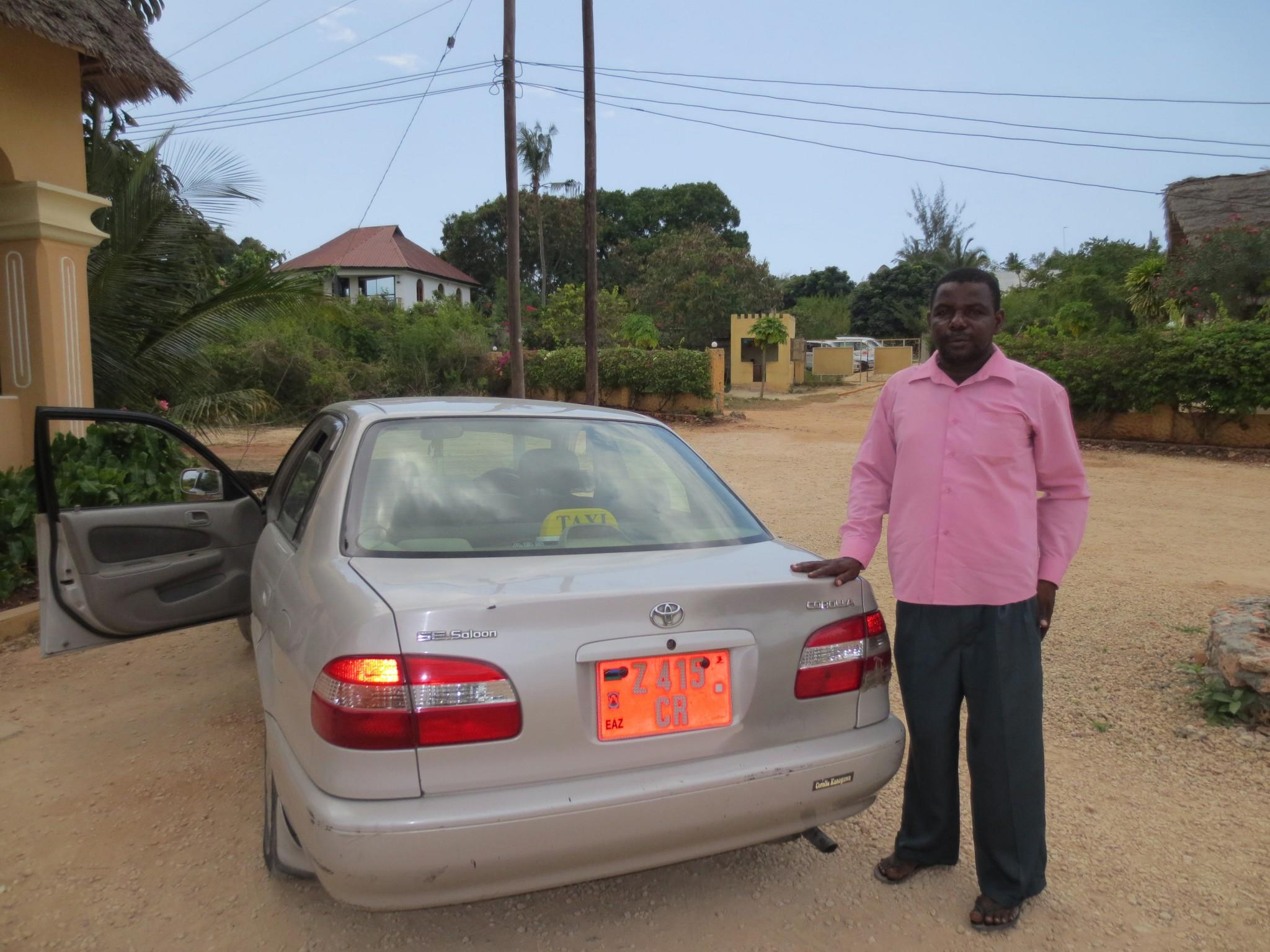 reliable cheap taxi driver zanzibar