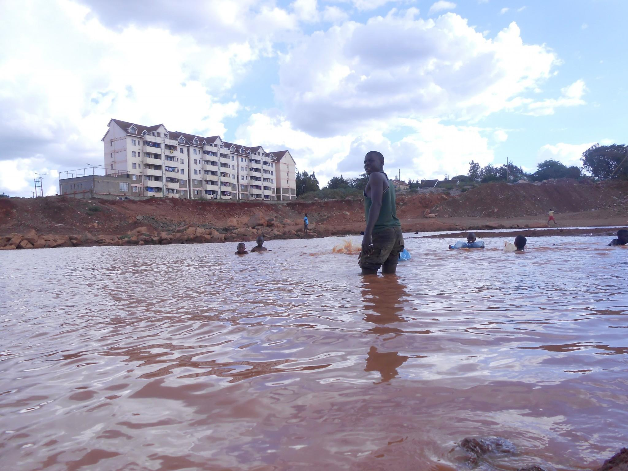 floods kibera slum nairobi