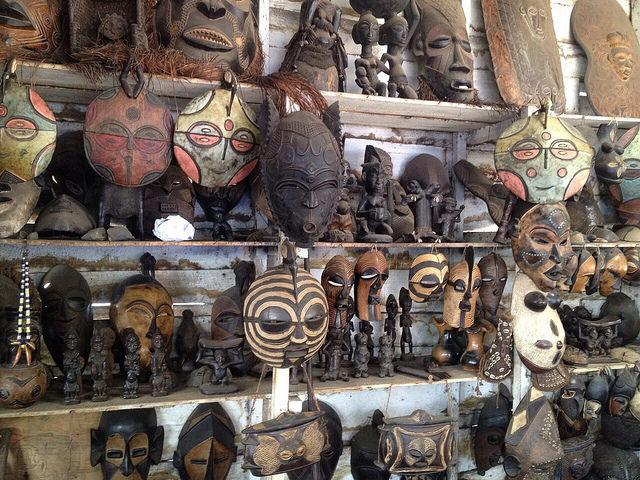goma local guide tour and shopping congolese souvenirs