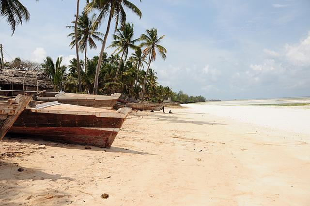 local beach zanzibar
