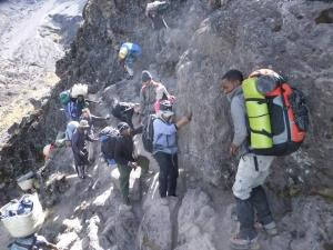 mount meru climb with professional local guide