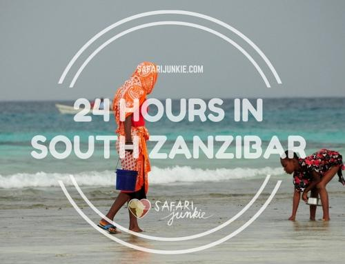 24 Hours in South Zanzibar