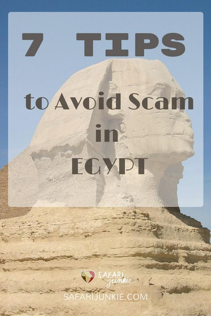 tips to avoid scam in Egypt