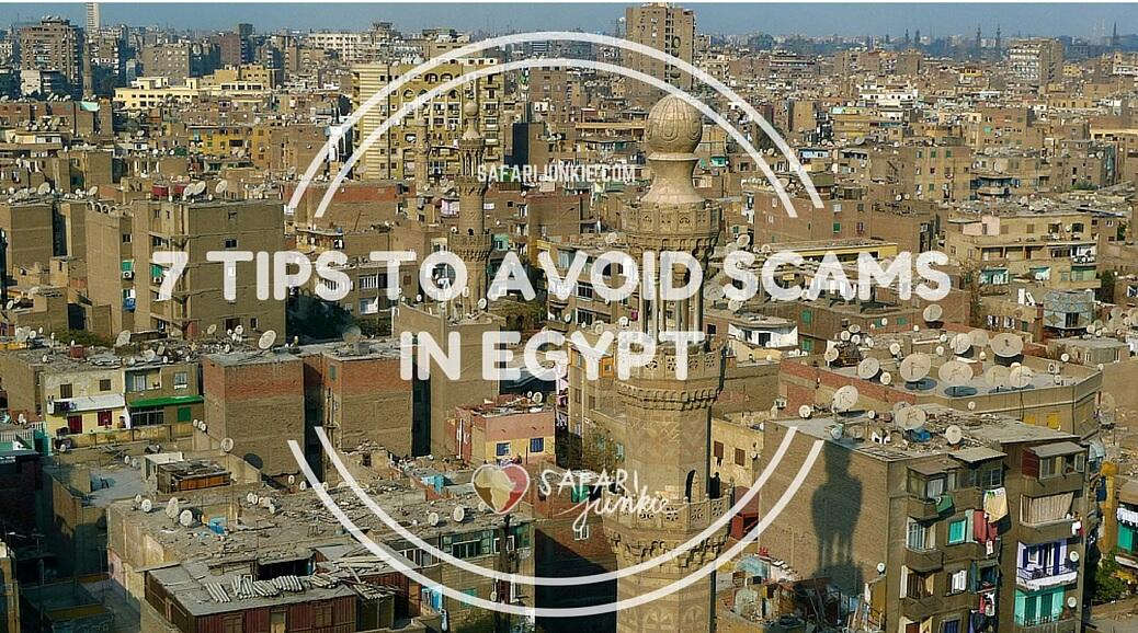 tips to avoid scams in egypt backpacking
