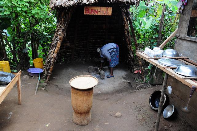 24 hours in Moshi guide - making coffee with locals
