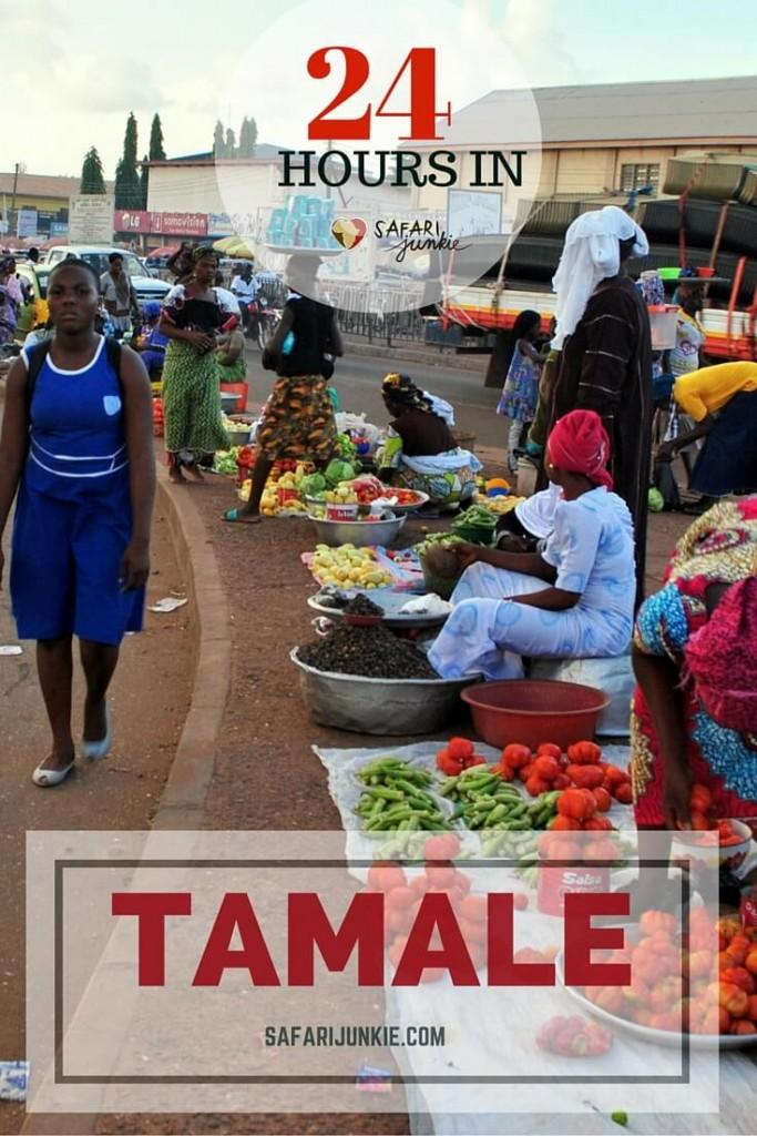 24 hours in Tamale Ghana
