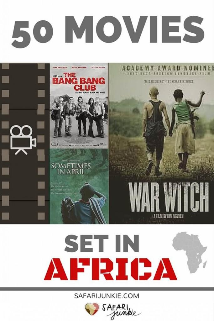 50 Movies Where the Action Happens in Africa