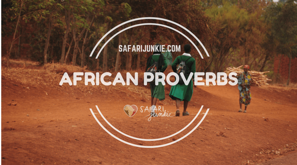 African proverbs collection