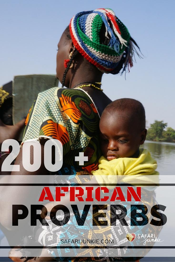 an analysis of the use of african proverbs Africans often use proverbs in the same way that their african-american brethren use signifying, a quick tongued response filled with wit nigerian author chinua achebe uses proverbs in his novels to illustrate how africans.