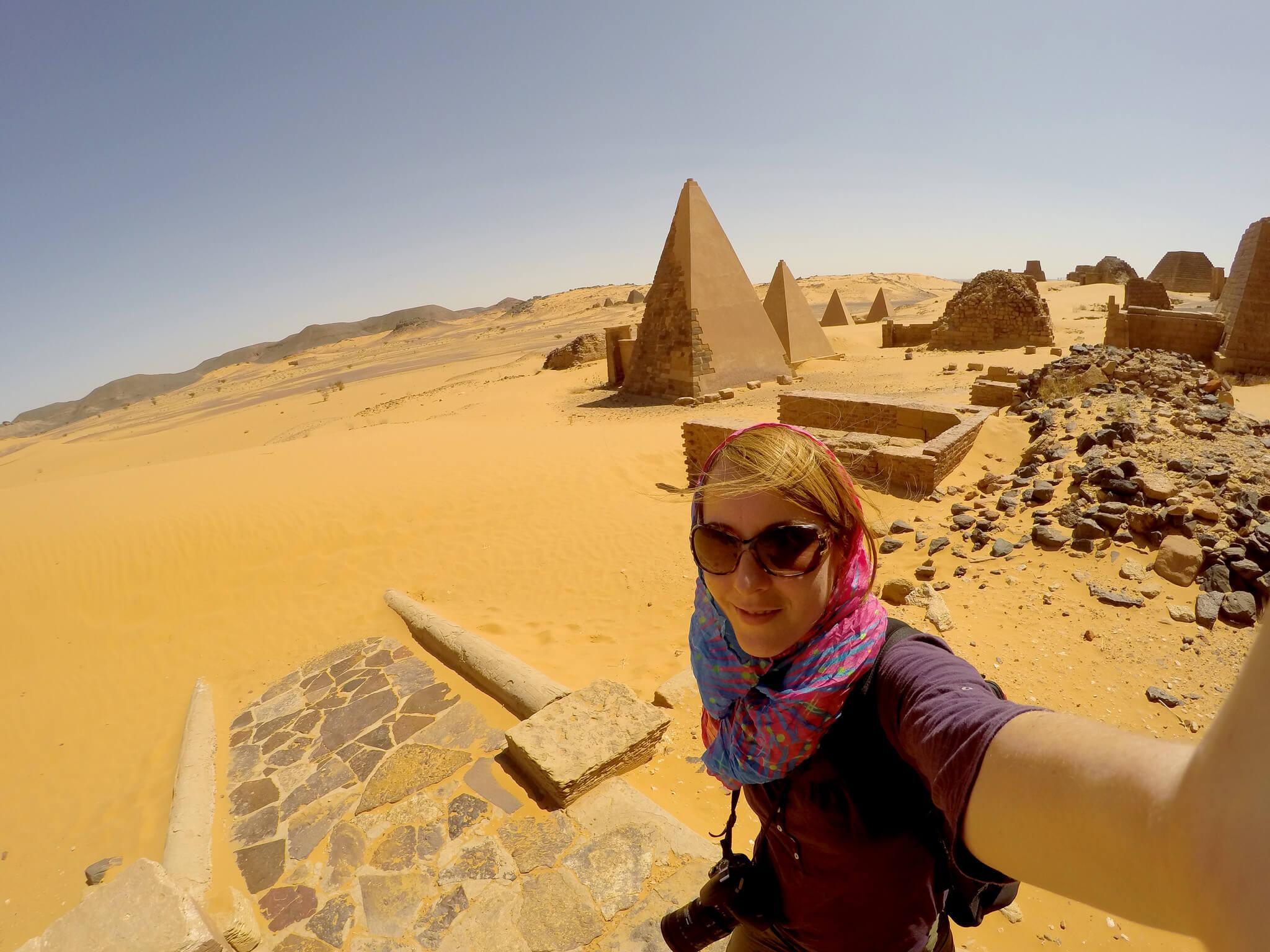 Meroe Pyramids Backpacking Way