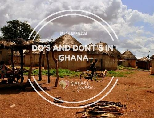 DOs and DONTs in Ghana