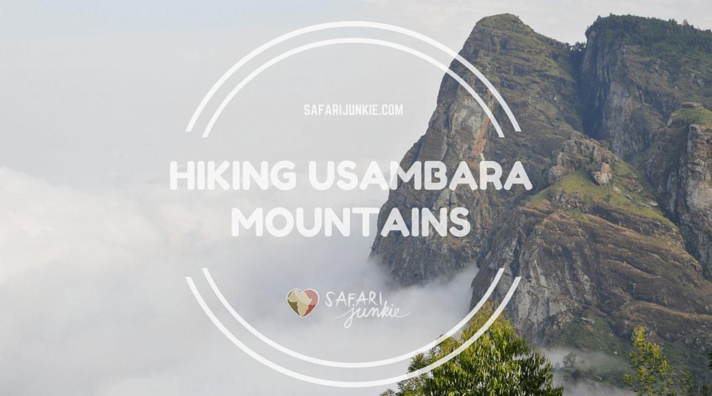 hikes in Tanzania - hiking and trekking in Usambara mountains