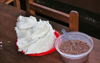ugali tanzanian food dar es salaam restaurants makande ugali