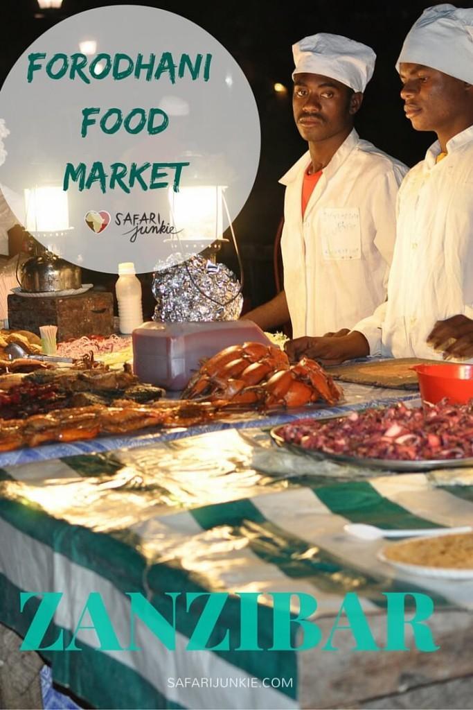 zanzibar forodhani food market