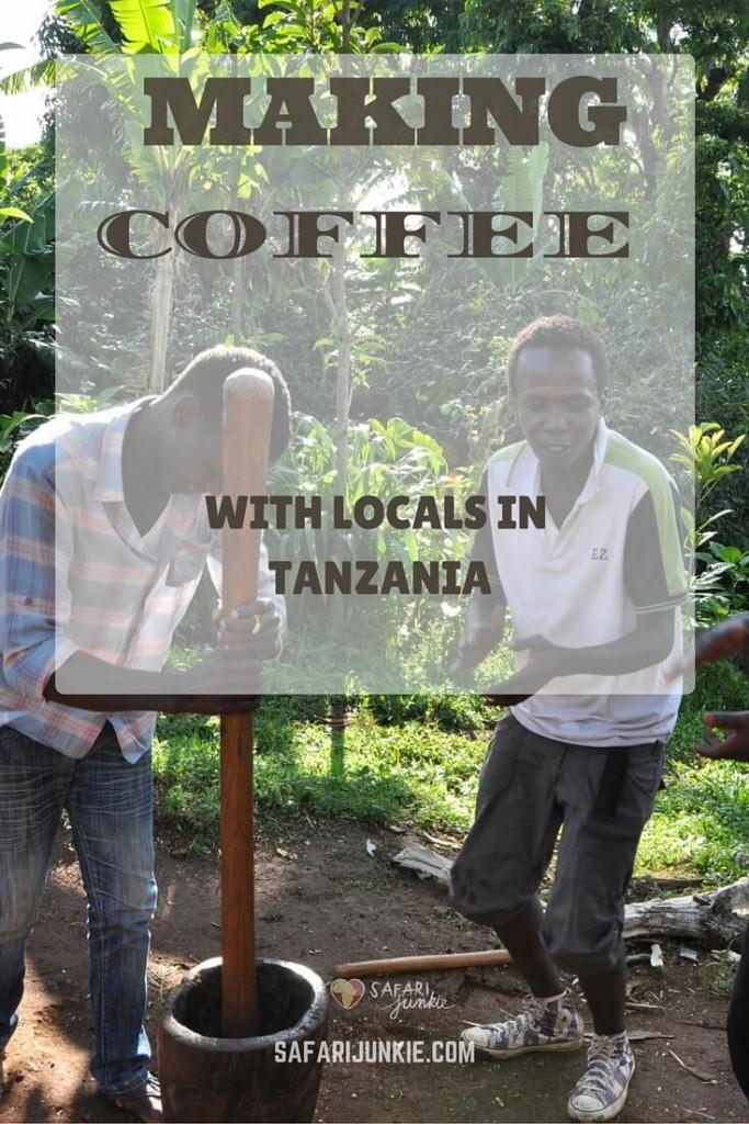 Making Coffee With Locals in Moshi