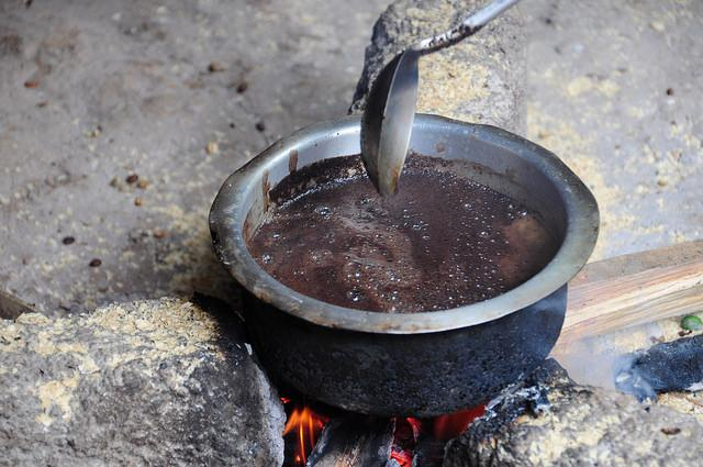 things to do in Moshi Tanzania making coffee with locals