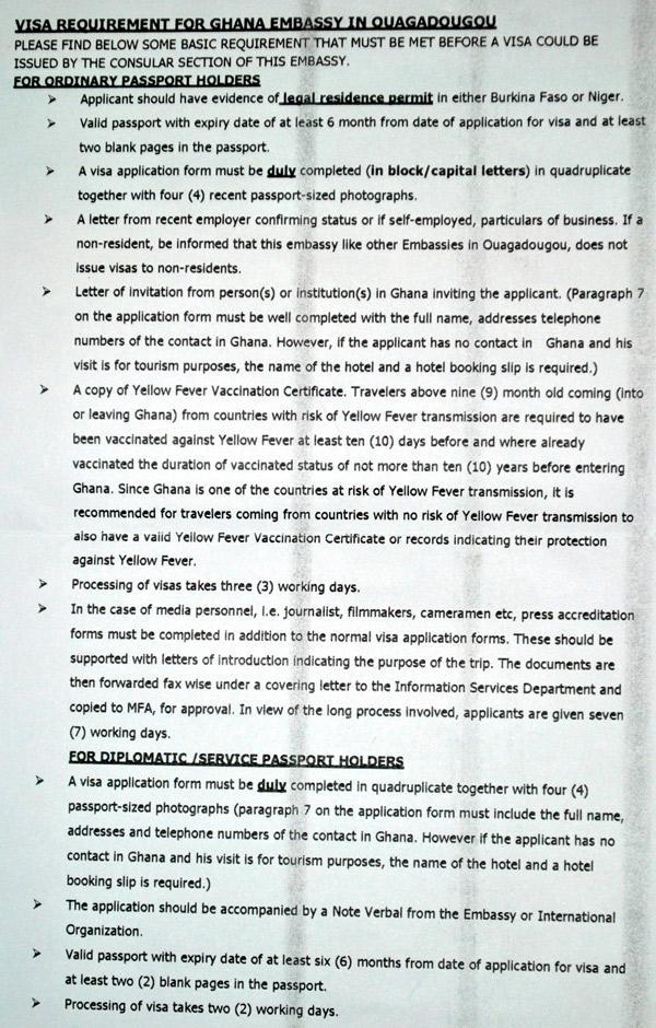 Ghana-Visa-in-Ouagadougou-burkina-faso-application Visa Application Letter Of Invitation on letter of invitation visa business, travel visa application, letter of invitation b2 visa, letter of invitation tourist visa,