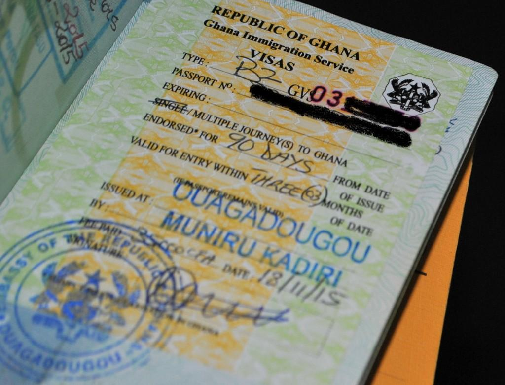 Ghana Visa in-Ouagadougou burkina faso application