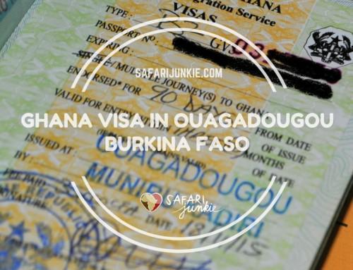 How to Apply for Ghana Visa in Ouagadougou?
