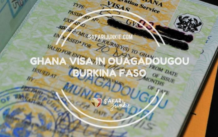 Ghanaian visa in Ouagadougou