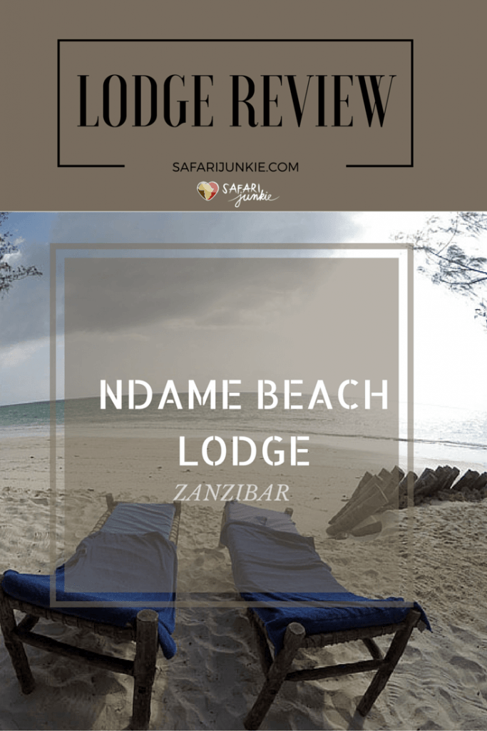 Ndame Beach Lodge Zanzibar review