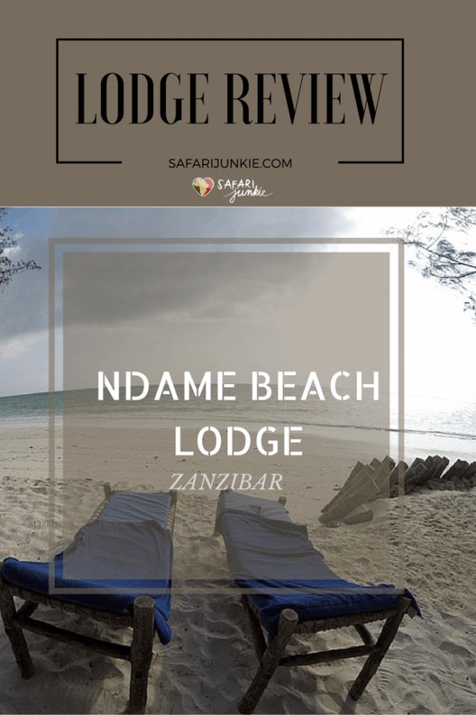 Ndame Beach Lodge Zanzibar review