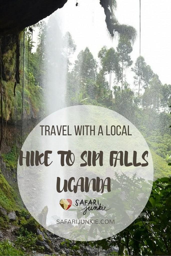 Sipi falls hike Uganda